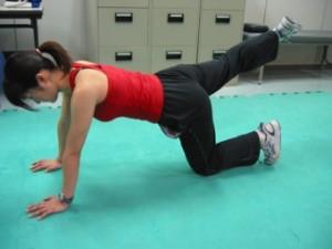 臀部の筋力トレーニング