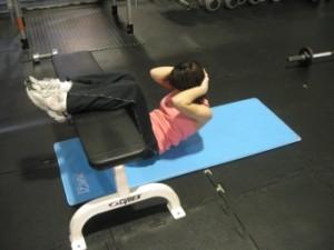腹部の筋力トレーニング
