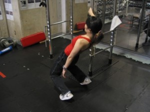大腿部前面の筋力トレーニング