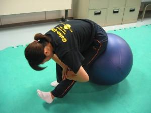 大腿部後面のストレッチ