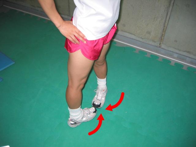 股関節の内旋