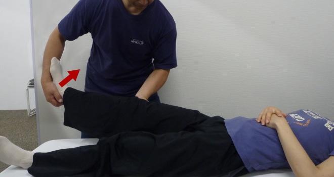 側服靭帯ストレステスト