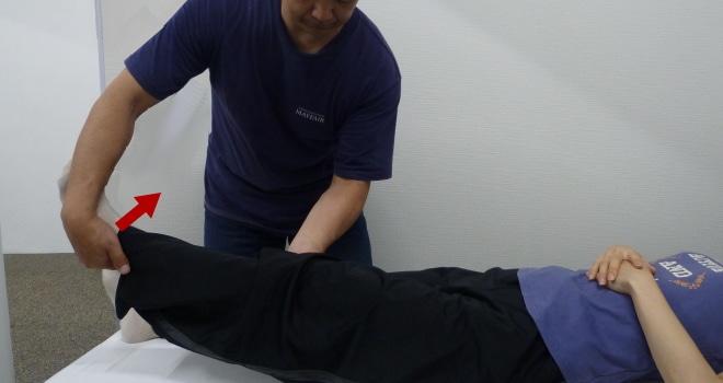 外副靭帯ストレステスト