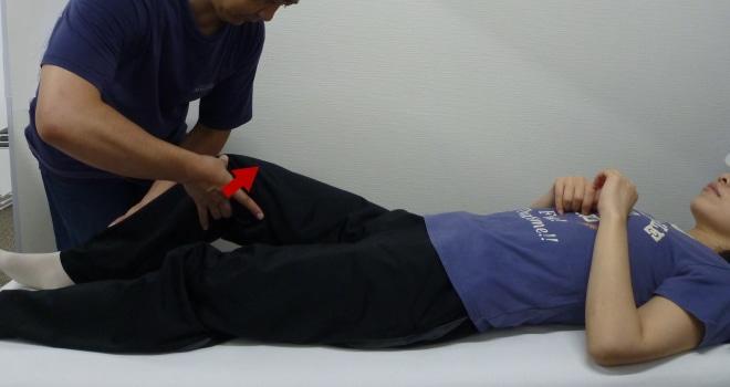 膝蓋骨アプレヘンションテスト