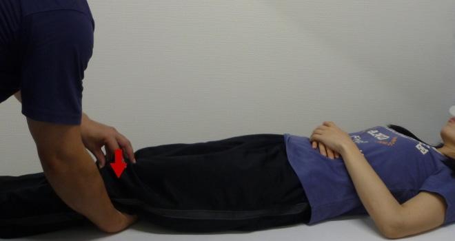 膝蓋骨バロットメントテスト(Patellar ballottement test)
