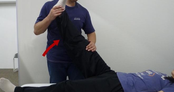 SLR,下肢拳上テスト