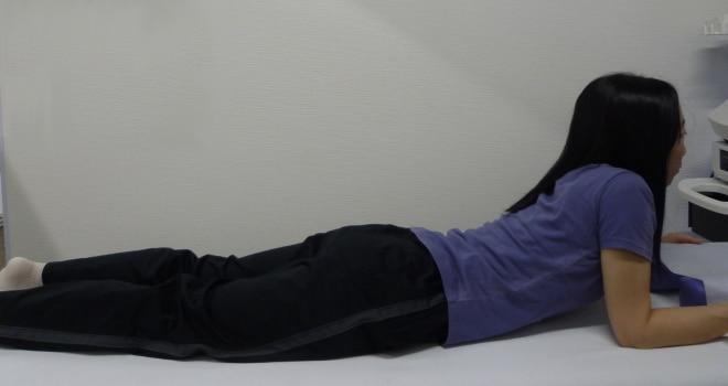 腰部の他動運動