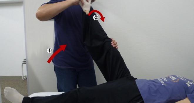 変形下肢拳上テスト Ⅳ